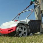 Gehört zur Rasenpflege: regelmäßiges Vertikutieren