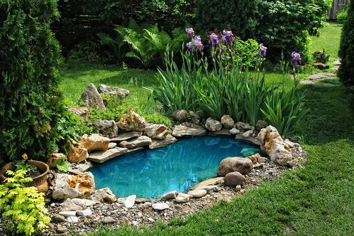 Wasserstelle Im Garten der gartenteich im eigenen garten garten kayser