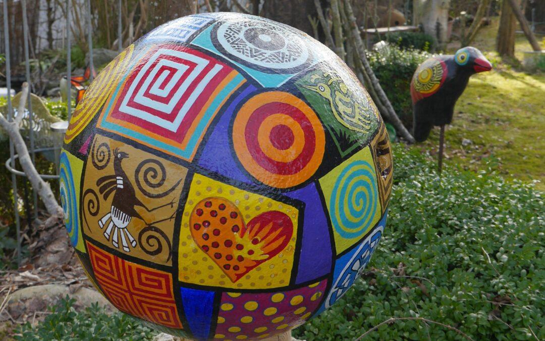 Gartenträume – Zwölf Fragen an Kunst-Schaffende. Heute mit: Gabi Eichstetter