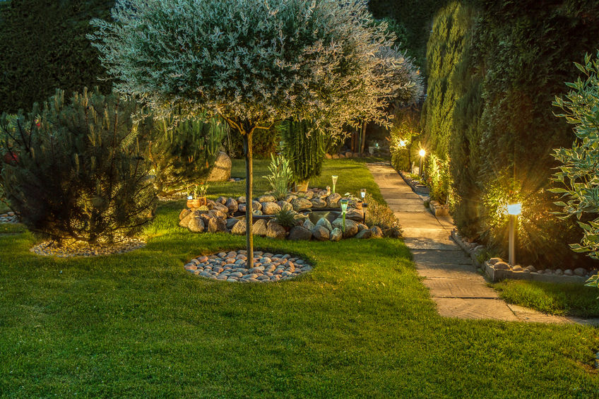 Lichtplanung via App für den Garten